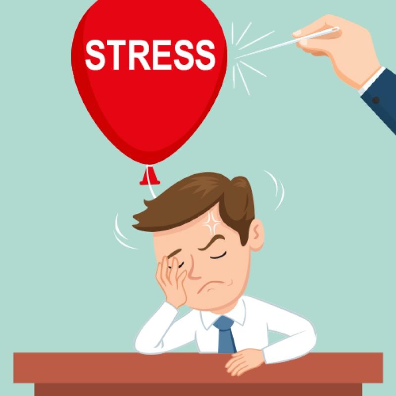 Geben Sie dem Stress keine Chance